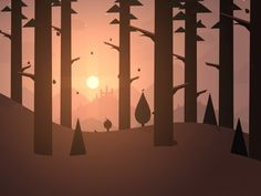 I'm incredibly excited to announce that my first ever game, Alto's Adventure, will be launching on the App Store next Thursday (February Watch the trailer here! Alto's Adventure is an endl. Game Design, Bg Design, Design Poster, Anim Gif, Gif Animé, Animated Gif, Motion Design, Animation, Alto Adventure