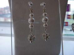 Earrings Pearl Earrings, Drop Earrings, Wedding Jewelry, Jewellery, Pearls, Pearl Studs, Jewels, Schmuck, Beads