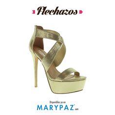 Compartimos un flechazo de la Nueva Colección SS/15   Estas sandalias New Collection SS/15 nos han enamorado <3 <3   ¿ Y a vosotras ?   #flechazos #bereal #i<3MARYPAZ  #it'sspring #springON #feelgood #feelMARYPAZ #SS15 #springsummer15 #primaveraverano15 #trendy #moda #cool  Shop at ► http://www.marypaz.com/tienda-online/sandalia-de-tacon-y-plataforma-cruzada-41893.html?sku=71210-42