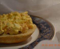 Egg og reke salat
