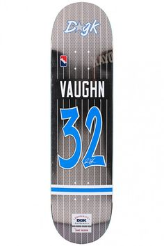 Vaughn Throwback Skateboard Deck by DGK