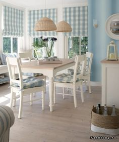 Cottage ● Laura Ashley Designed Dining Space