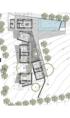 Find the best ideas and inspiration for the home. HOUSE San Jerónimo - Antioquia by Architecture Concept Drawings, Architecture Building Design, Architecture Panel, Modern Architecture House, Architecture Portfolio, Facade Design, Modern House Design, Architectural Floor Plans, Villa Plan