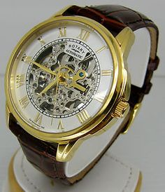rotary jura watch review affordable skeleton the best watches rotary mens skeleton dial watch brown leather strap gs03862 01