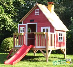 Amazing Shed Plans - Storage shed plans free outdoor playhouse uk - Now You Can Build ANY Shed In A Weekend Even If You've Zero Woodworking Experience! Start building amazing sheds the easier way with a collection of shed plans! Kids Playhouse Plans, Build A Playhouse, Playhouse Outdoor, Playhouse Slide, Playhouse Theatre, Cubby Houses, Play Houses, Wooden Playhouse With Slide, Childrens Wooden Playhouse