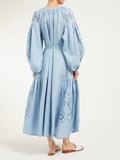 Casual Day Dresses, Beach Wear Dresses, Nice Dresses, Girls Dresses, Summer Dresses, Light Blue Dresses, Haute Couture Fashion, Muslim Fashion, Stunning Dresses