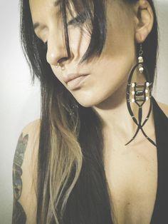 Native Cherilyn Earrings by IndianYepaVintage on Etsy