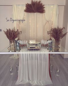 the suorganizasyo - My Website 2020 Engagement Humor, Engagement Cards, Wedding Table, Diy Wedding, Sofa Table Design, Word Table, Baby Shower Souvenirs, Diy Crafts For Gifts, Decoration Table