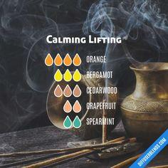 Calming Lifting - Essential Oil Diffuser Blend
