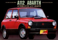 アウトビアンキ AUTOBIANCHI A112 ABARTH(フジミ)