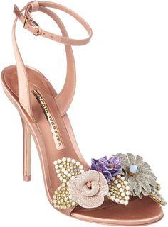 Sophia Webster Lilico Satin Sandal Zapatillas Con Estilo cb3594c392bd