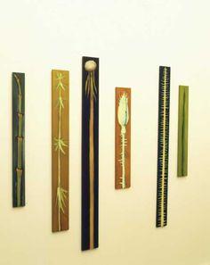 Moderne Malerei: Die Gestalt einer Knospe, die Architektur eines Keimlings werden zum Sinnbild der Natur. Kunstformen der Pflanzen, Sonia Steidle's Online-Kunstausstellung
