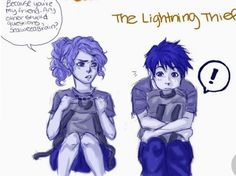 Percy Jackson Drawings, Percy Jackson Memes, Percy Jackson Books, Percy Jackson Fandom, Rick Riordan Book Series, Rick Riordan Books, Percy And Annabeth, Annabeth Chase, Solangelo