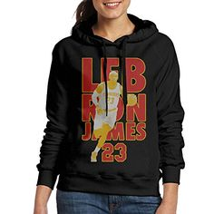 AUSIN Womens Cleveland 23 Hooded Sweatshirt Black Size S ** Click image for more details.  This link participates in Amazon Service LLC Associates Program, a program designed to let participant earn advertising fees by advertising and linking to Amazon.com.
