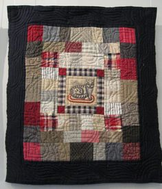 Wonderful little Welsh inspired quilt from Dutch Quilt Cat.                                                                                                                                                                                 More