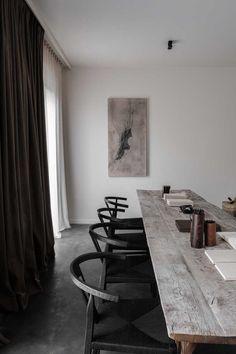 Hardwood Floors, Dark Hardwood, Dining Ware, Dining Room, Living Spaces, Modern Colonial, Interior Architecture, Interior Design, Real Estate Branding