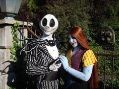 Jack & Sally will be at the Magic Kingdom's Halloween parties this year!