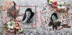 Gorgeous layout by Moira Gilowey from South Africa using our C109 A Moment In Time Collection