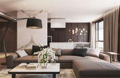 wood and stone - Освещение в современном стиле c XAL | PINWIN - конкурсы для архитекторов, дизайнеров, декораторов