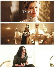 Loki ~ Trust My Rage, the moment he and Thor lost their mother I think made Loki want to do better for her