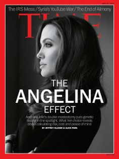 Angelina Jolie TIME Magazine Cover May 2013