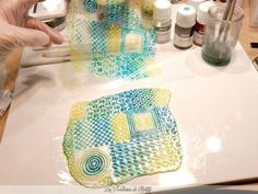 good tutorial using stain glass paints