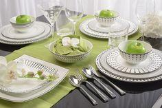 Cheers beautiful contemporary tableware.