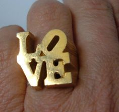 Philly ring from magpieantiques on Etsy, want it!
