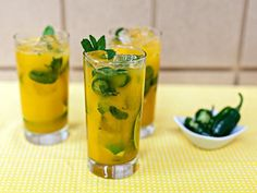 Get Jalapeno-Mango Mojito Recipe from Food Network
