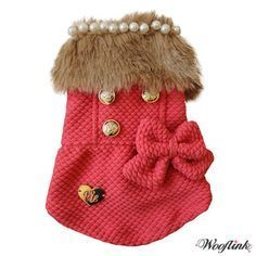 Posh Girl Coat- Red- Shop By Designer - Wooflink Collection Posh Puppy Boutique Chihuahua Clothes, Cute Dog Clothes, Animal Clothes, Dog Clothes Patterns, Designer Dog Clothes, Pet Boutique, Posh Girl, Pet Fashion, Dog Jacket