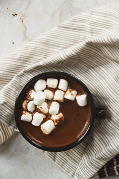 Ancho chili hot cocoa