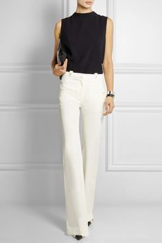 Altuzarra | Serge stretch-twill flared pants | NET-A-PORTER.COM
