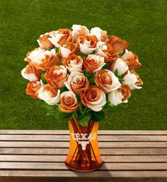 Beautiful flowers for any UT fan