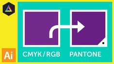 In this video I am going to demonstrate a quick way you can convert CMYK and RGB colour swatches into Pantone swatches in Adobe…