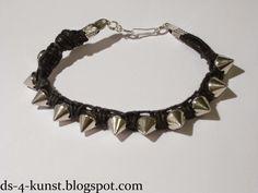 DS 4 Kunst: bransoletka rockowa / rock bracelet / Rock Armband...
