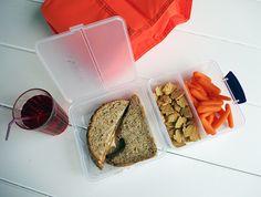 Peanut Butter, Jelly and Cheddar Sandwich | Tillamook Community - a sweet & salty combo! @tillamook