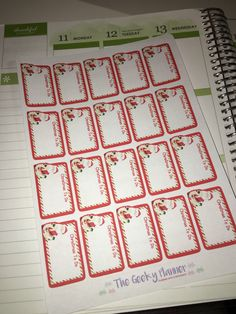 A personal favourite from my Etsy shop https://www.etsy.com/uk/listing/493738429/20-santa-to-do-christmas-planner-sticker