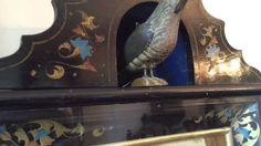 Early Beha Cuckoo Clock with Exposed Bird and Eye Automata