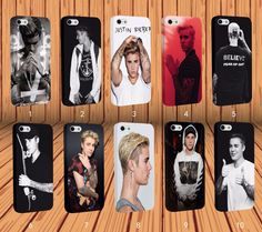 Wrapped Justin Bieber for Apple iPhone And Samsung Series Hard Case Cover #NONGCHAO