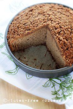 Gluten-Free Goddess Applesauce Cake. #glutenfree #cake