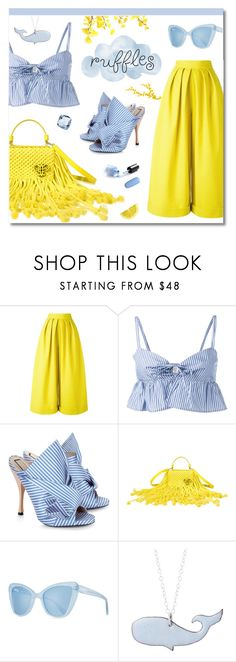 """""""Top Fashion Set for May 3rd, 2017"""" by ekaterina-uglyanitsa ❤ liked on Polyvore featuring Delpozo, Maryam Nassir Zadeh, N°21, Emilio Pucci, Prism and ruffledtops"""
