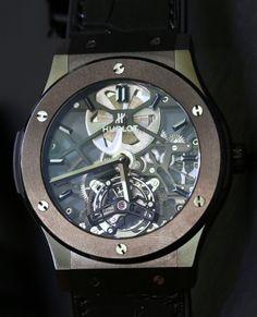 Hublot Classic Fusion Skeleton Tourbillon 45mm Watches