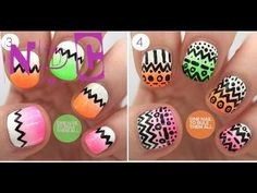 Tribal Nail Design Httpnailtech6tribal Nail Design 7