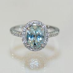 aquamarine rings | Buy 18ct aquamarine and diamond ring, Sold Rings Sydney ...