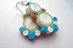 paper-quilled-earrings-marine-wave-sea