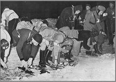 Start Elfstedentocht in 1940