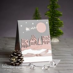 Christmas Card Stampin 'Up! using the set of stamps set for Christmas