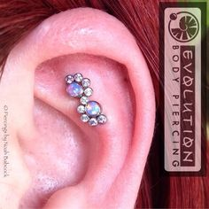 1 piercing, 2 holes...