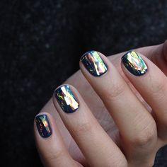 "3,829 Likes, 75 Comments - 유니스텔라 네일_박은경 (@nail_unistella) on Instagram: "" #snorkelblue + #glassnails """