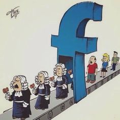 Illustrations Capturing The Reality Of Our Modern Society(New Pics) Caricatures, Social Media Art, Satirical Illustrations, Art Illustrations, Meaningful Pictures, Plakat Design, Deep Art, Political Art, Humor Grafico